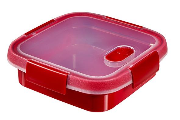smart microwave multi-use vk 0.6l rood16x16x5cm