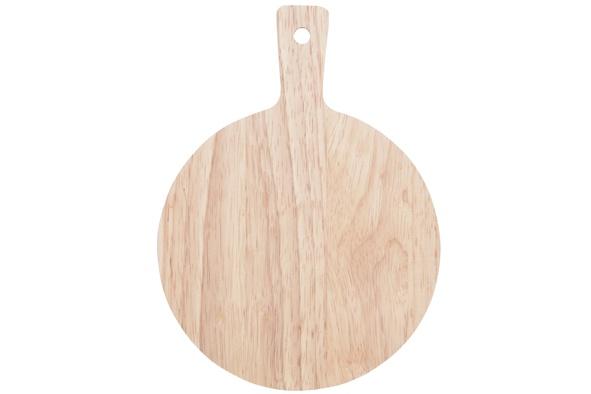 serveerplank mini s4 d14xl19cm rubberhout