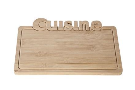 cuisine bamboo plankjes s10 displayplankje 25x18xh1cm