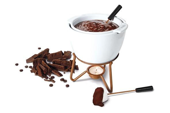 choco fondue au bain marie500ml d14cm -14.5x14x17.5cm