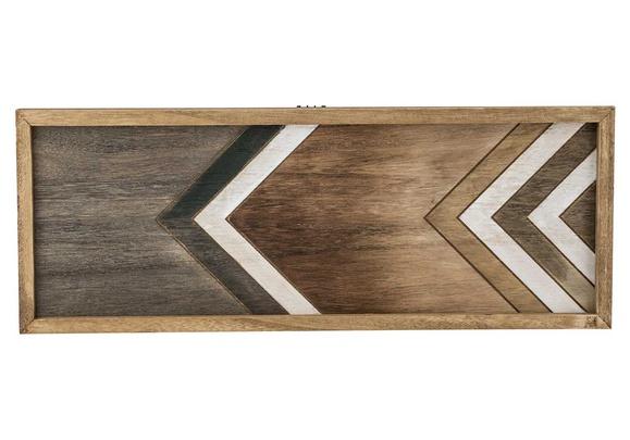 dienblad natuur rechthoek hout 50,5x3xh19