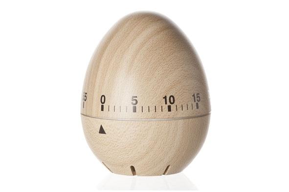 keukentimer vorm ei d6.2xh7.5cm