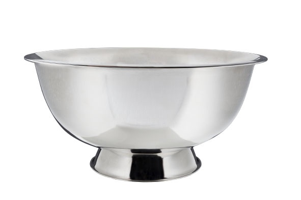 champagne-bowl op voet maxi d40cm