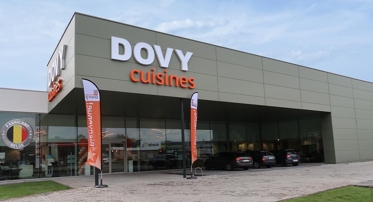 Dovy ouvre sa 28ème succursale en Belgique, à Verviers