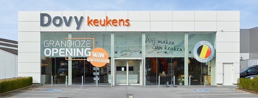 Dovy Keukens opent nieuwe toonzaal in Oostende