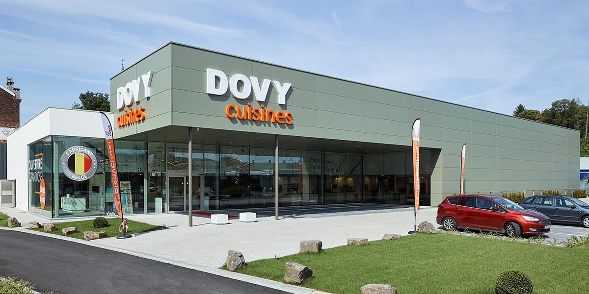 Dovy opent nieuwe toonzaal in Verviers