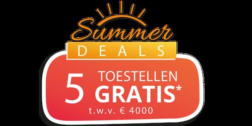 Summer Deals bij Dovy
