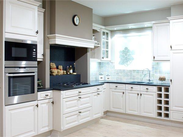 Massief eiken keuken - Model Cottage