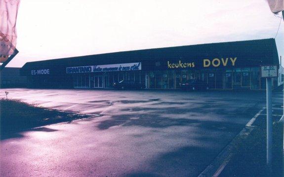 Tweede toonzaal Dovy Keukens in Waregem