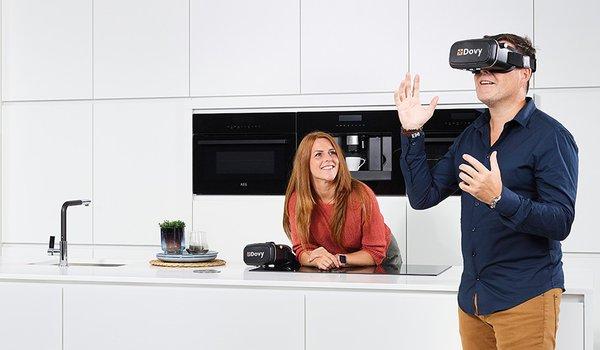 Dovy 360: Bekijk je nieuwe keuken alsof hij al bij je thuis zou staan