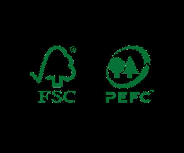 FSC en PEFC logo's