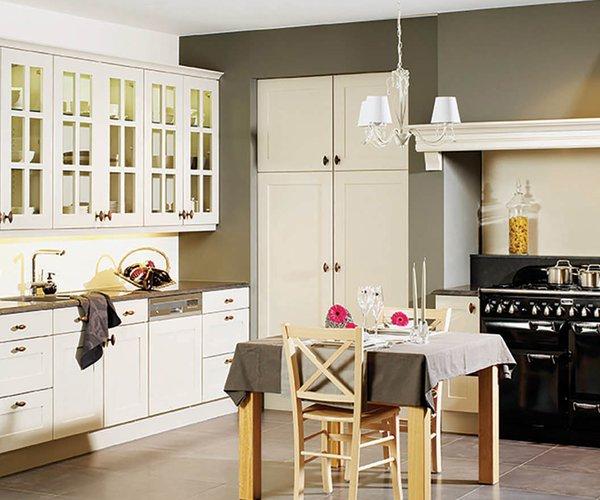 Landelijke keuken L-vorm - Model Sorento