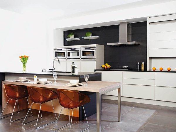 Exclusieve keuken in lounge stijl - Model Design