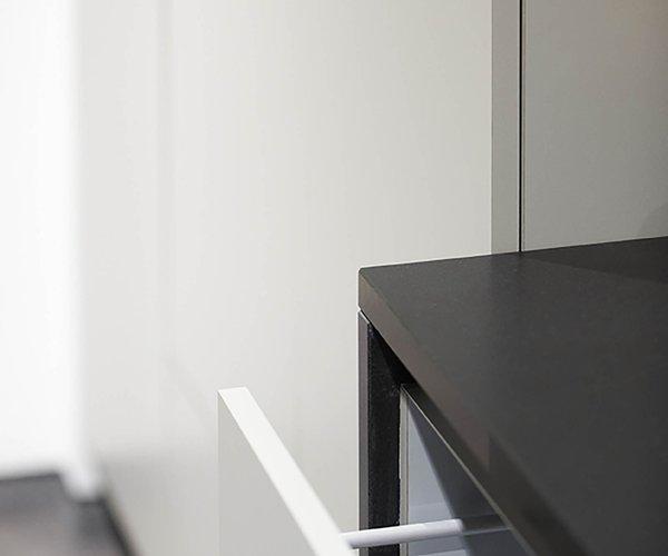 Cuisine de style lounge - Modèle Design - Plan de travail en granit