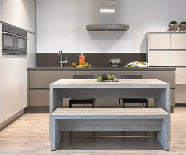 Hedendaagse greeploze keuken - Model Alupro