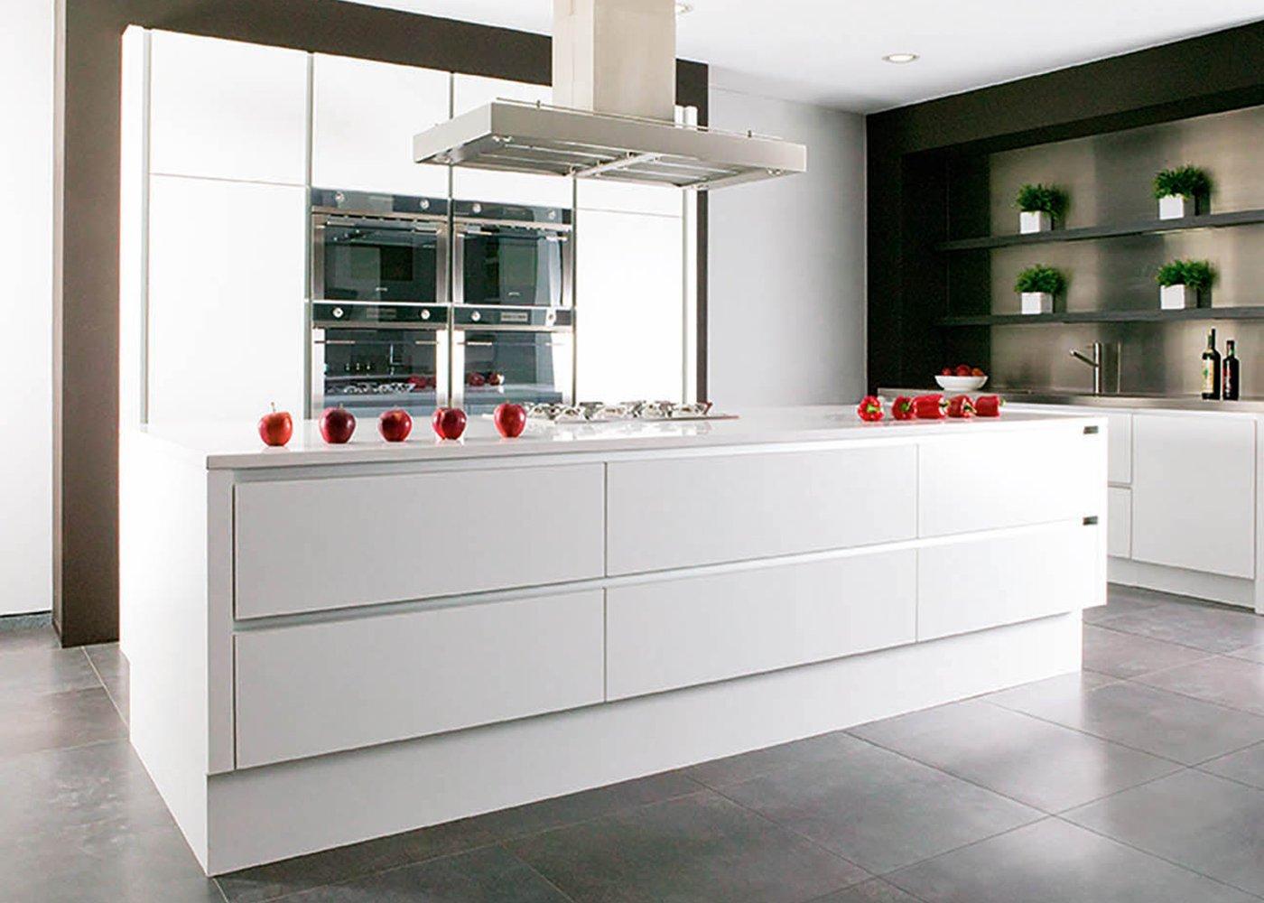 Moderne keuken premium white - Model Design