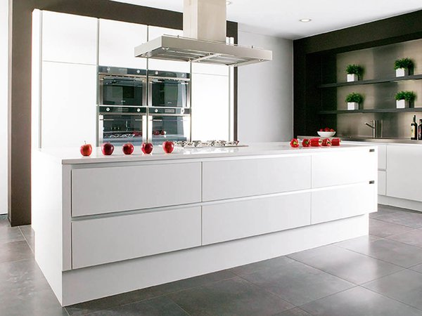 Moderne keuken premium white - Model Design