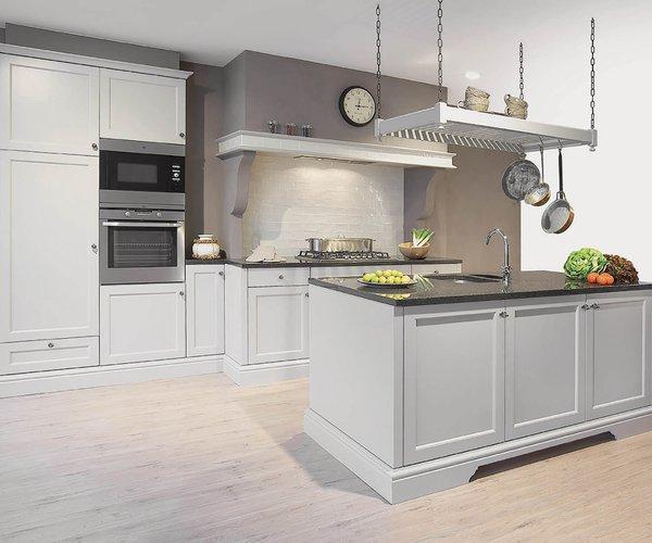 Cuisine rustique style cottage anglais - Modèle Les Flandres