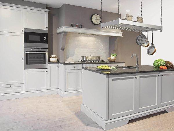 Landelijke keuken mat lak - Model Les Flandres