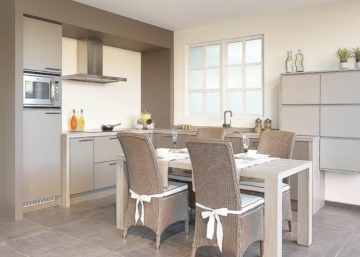 Moderne keuken L-vorm - Model Design Toronto