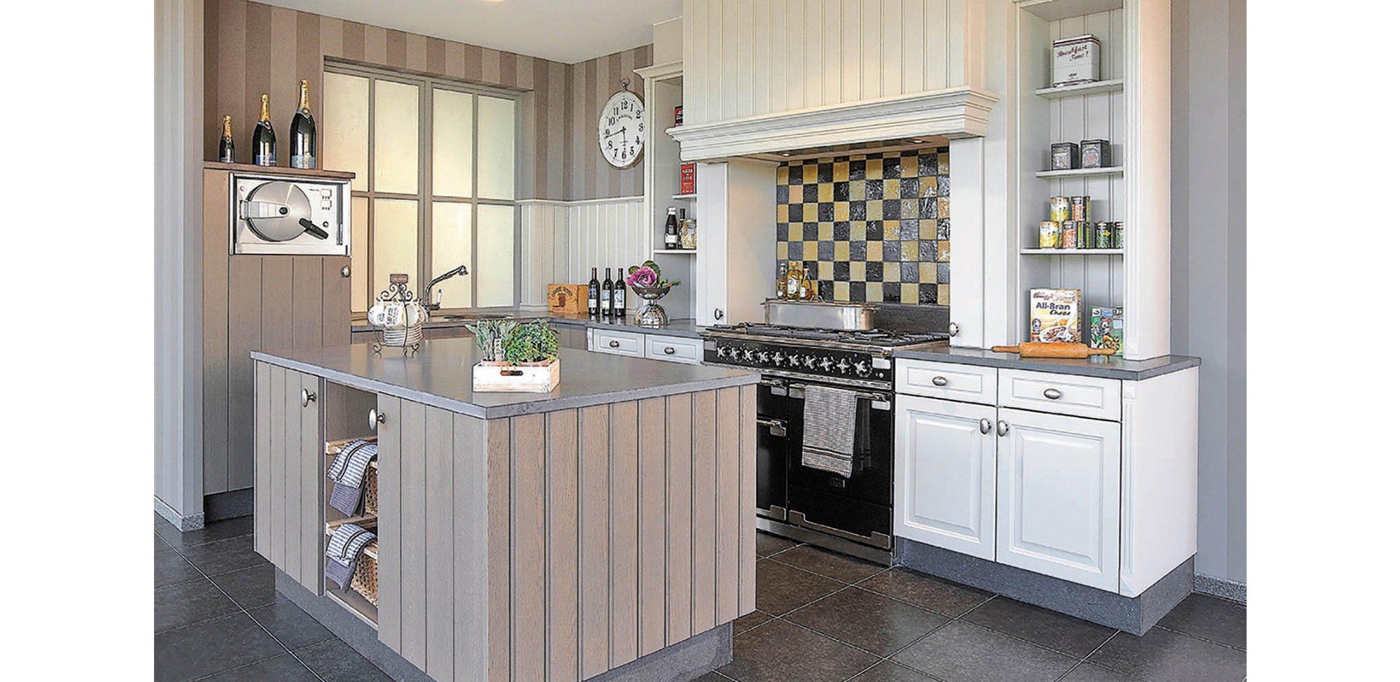 Landelijke keuken cottage stijl - Model Cottage / Provence