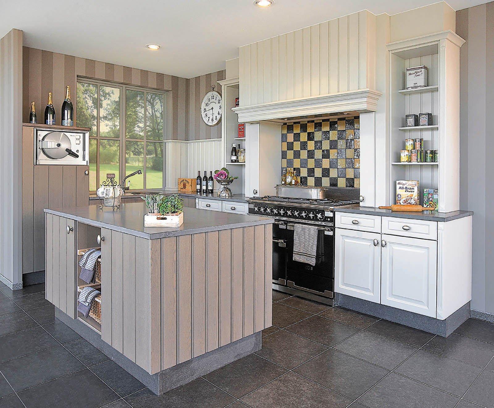 Cuisine rustique et cottage - Modèle Cottage Provence