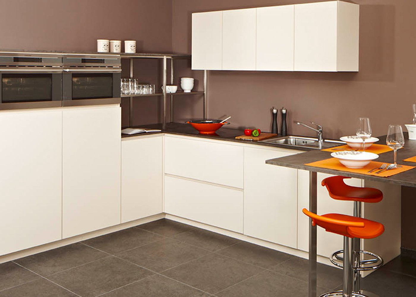 Moderne keuken crema - Model Design