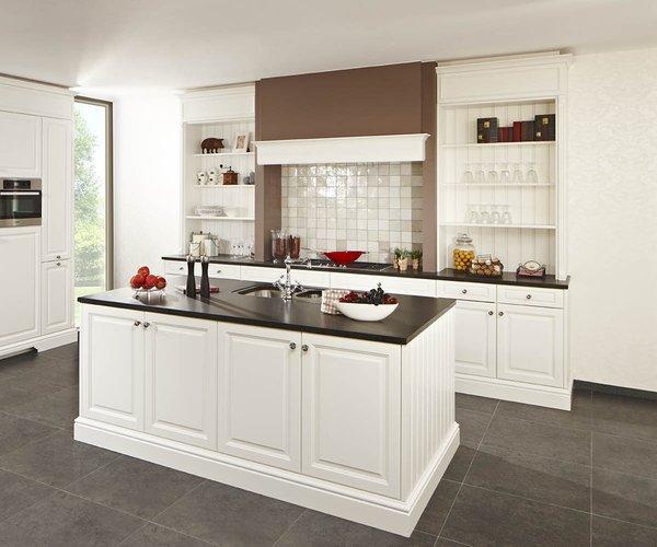 Cuisine en chêne blanc - Modèle Cottage