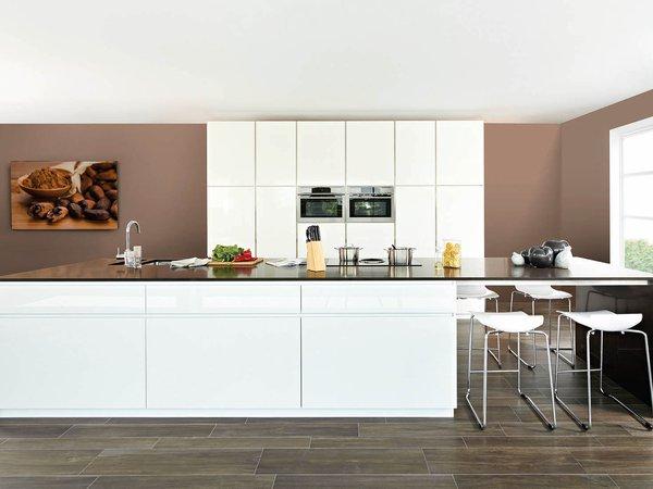 La cuisine peinte en brillant : la tendance du moment !