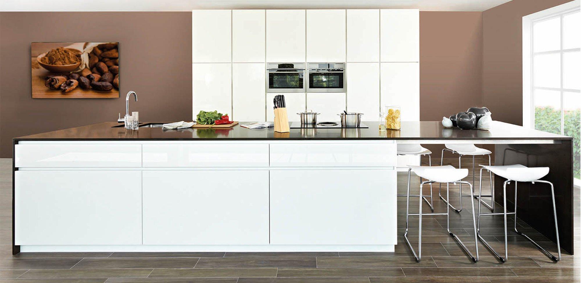 Moderne keuken in hoogglans lak - Model Design