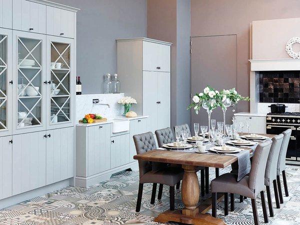 Landelijke, mat gelakte keuken - Model Geneve
