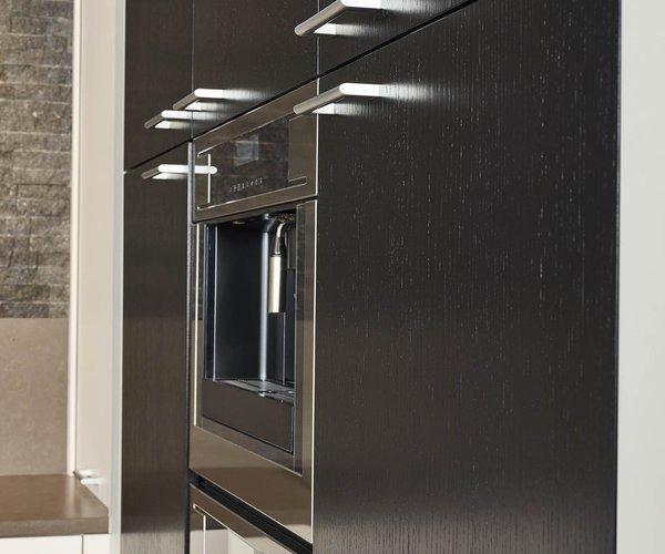 Cuisine moderne et pratique en L - Modèle Toronto - Armoires de cuisine alignées