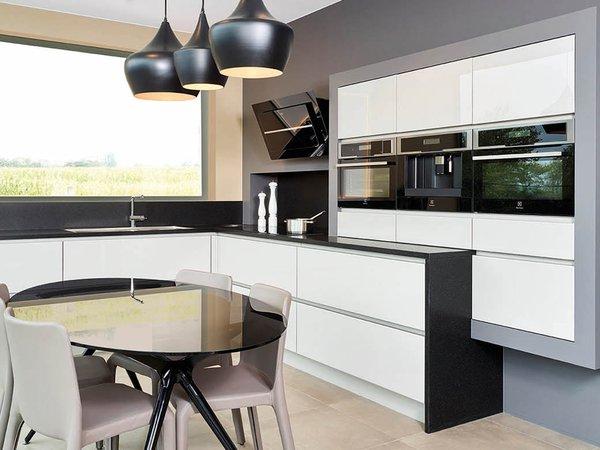Strakke moderne keuken - Model Sirius