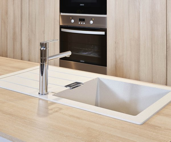 Moderne keuken in laminaat - Model Design - Spoeltafel met minimalistisch design