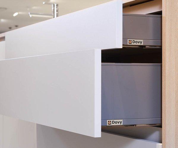 Moderne keuken in laminaat - Model Design - Volledig uittrekbare laden