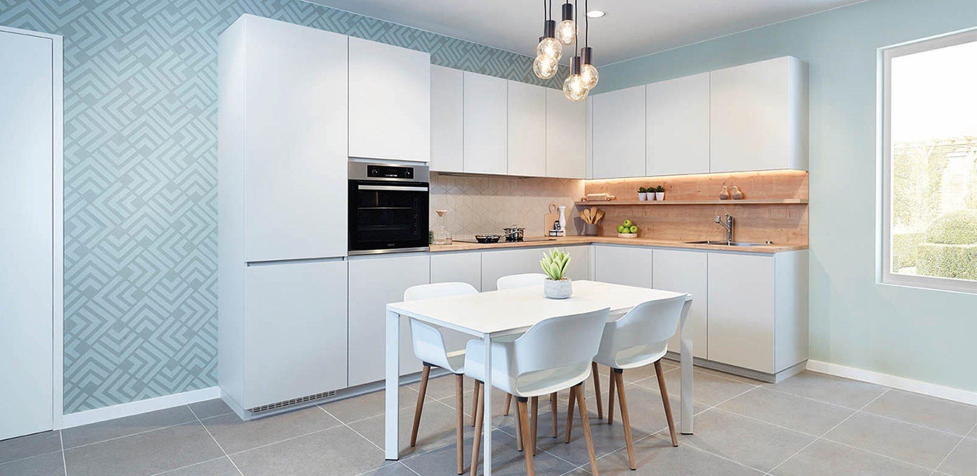 Moderne L-keuken - Model Design