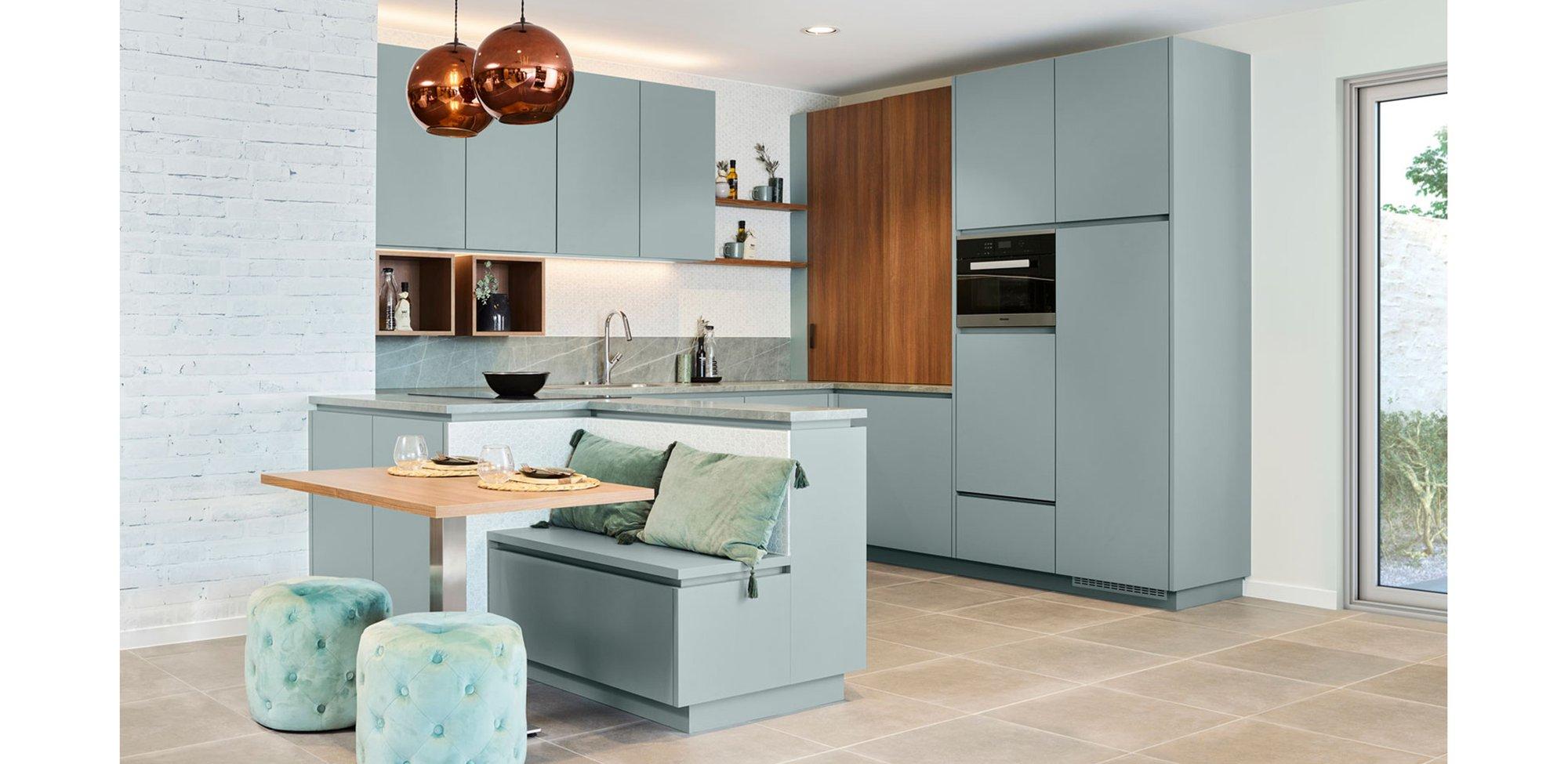 Groene vintage keuken - Model Design