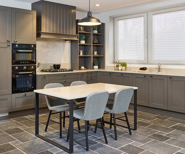 Landelijke keuken in mat lak - Model Sorento