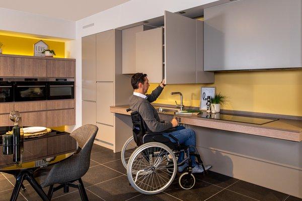 Cuisines accessibles personnes à mobilité réduite