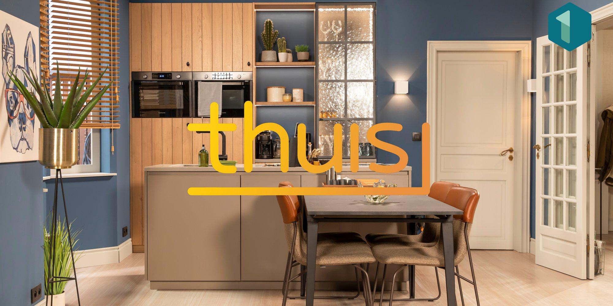 Keuken in één tv programma Thuis Kobe