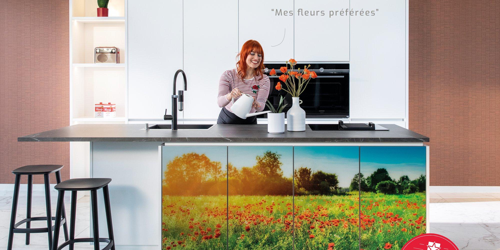 Personnalisez votre cuisine avec votre photo préférée