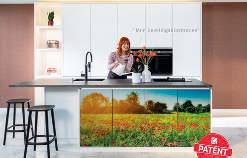 campagnebeeld dovy keukens gepersonaliseerder keuken