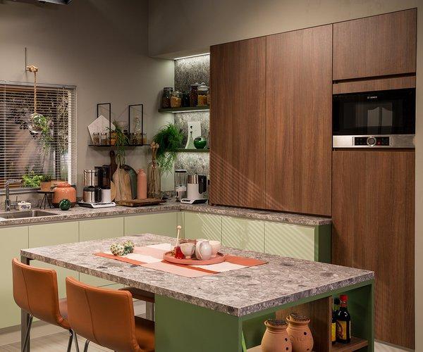 Keuken in één tv programma Thuis Judith