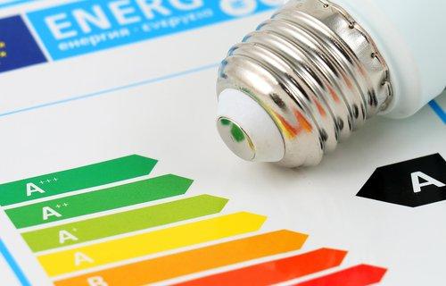 Aangepaste energielabel