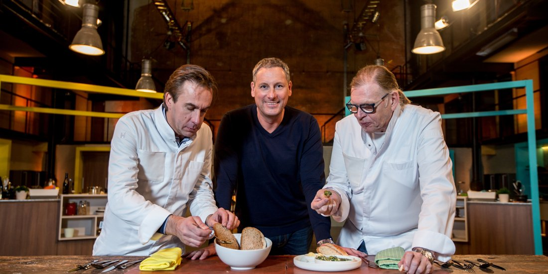 Dovy sponsort tv-programma 'Chef in je oor'