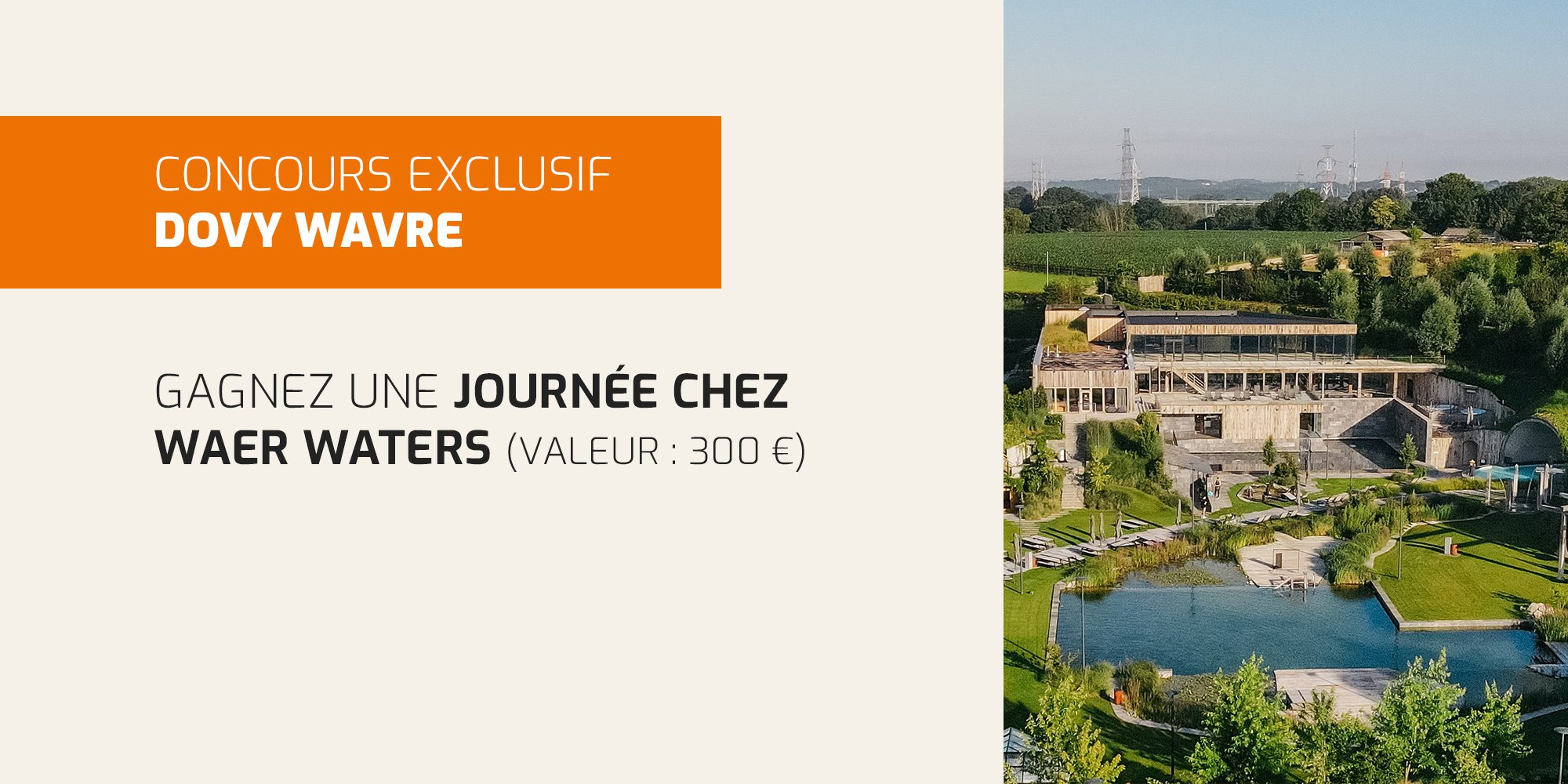 concours exclusif Dovy Wavre