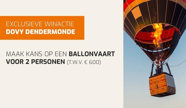 exclusieve winactie Dovy Dendermonde