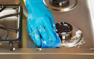 Entretien de la plaque de cuisson au gaz