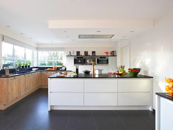 Cuisine moderne avec une touche rustique - Modèle Savannah / Design