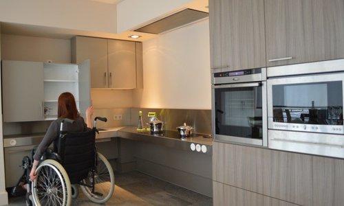 Keukens voor mensen met beperking